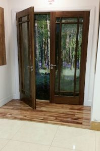 Murphy Larkin showroom doors