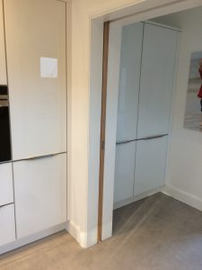 A Pocket Door Is A Neat Stylish Sliding Door Solution