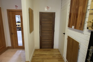 Showroom doors at Murphy Larkin