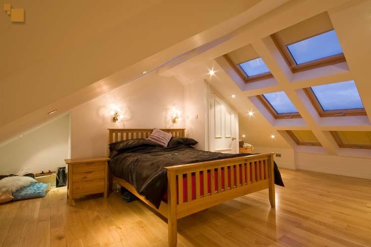 attic bedroom   Murphy Larkin