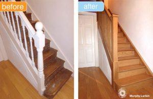 Murphy Larkin Stairs refurb