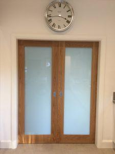 Double sliding doors
