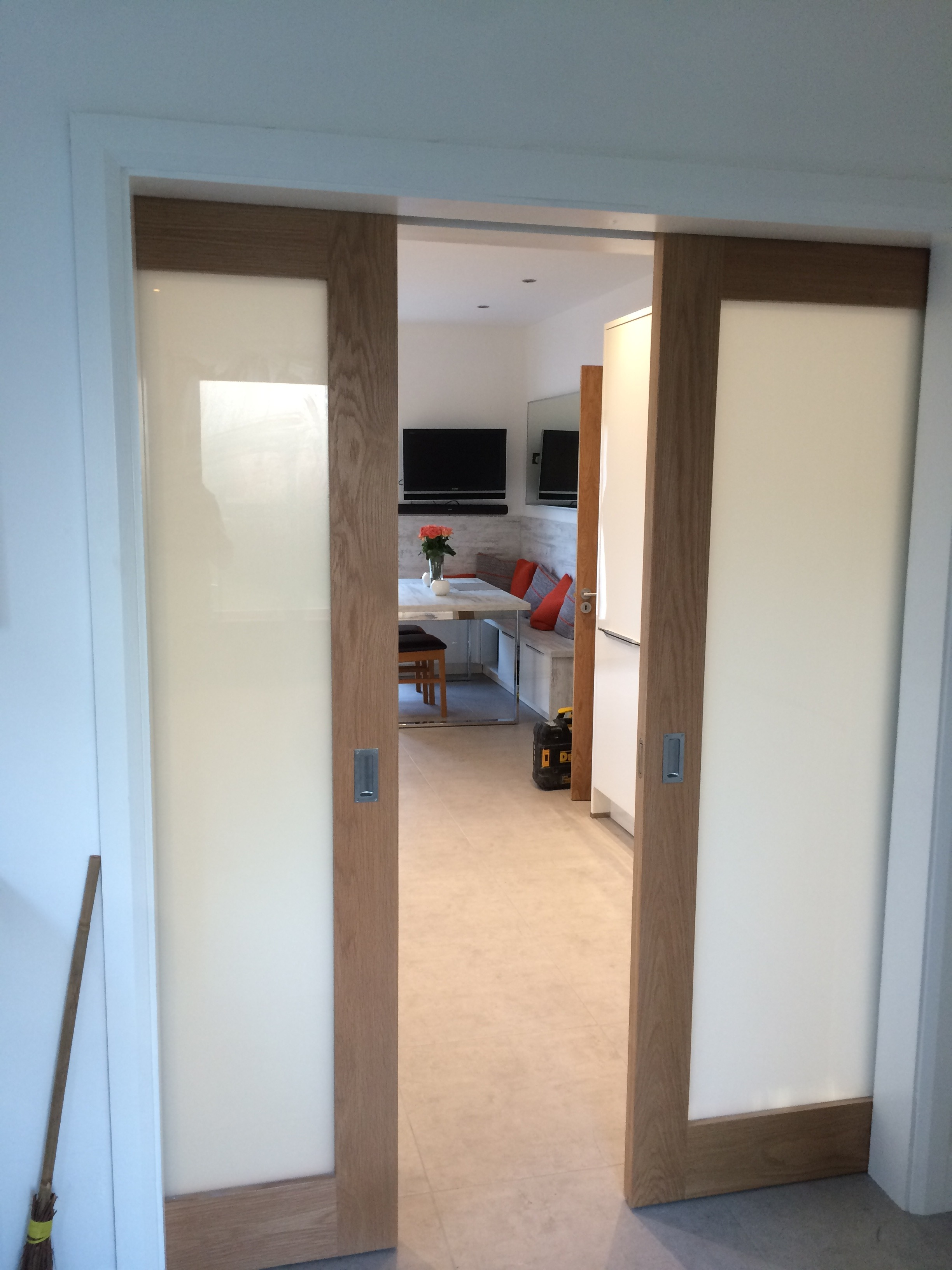 A Pocket Door is a Neat, Stylish, Sliding Door Solution