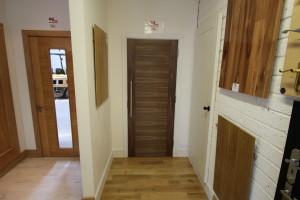 Showroom doors at Murphy Larkin