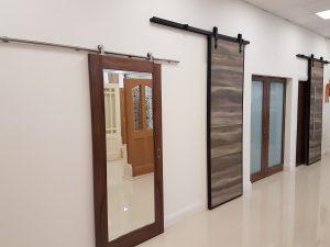Sliding doors, pocket doors