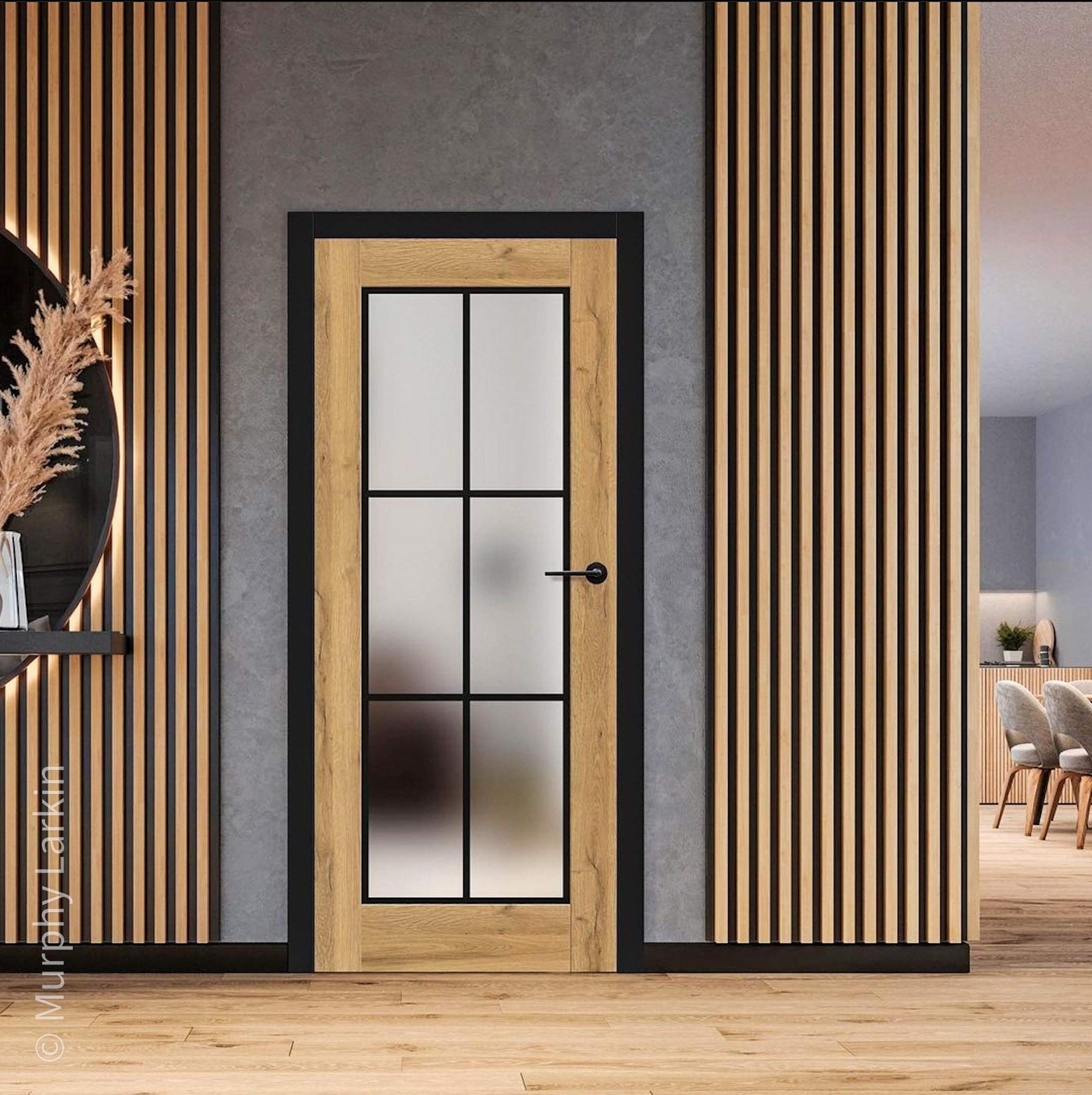 Vertical Wall Paneling