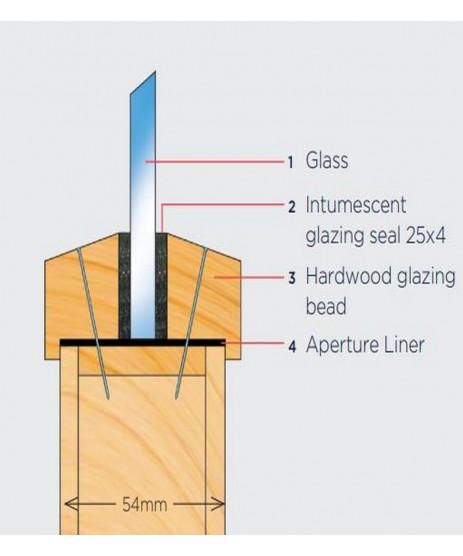 EXI-GLAZE 60 2.1m Brown