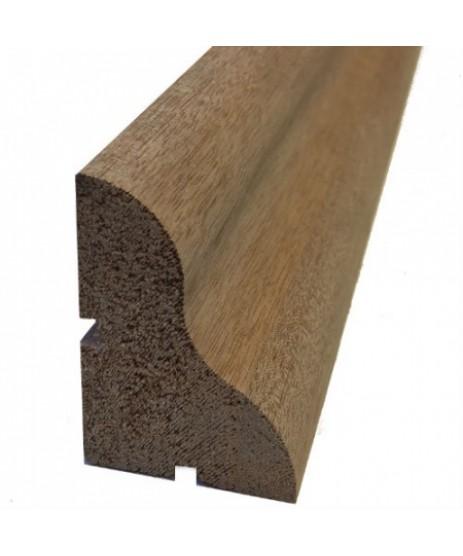 Mahogany Hardwood Timber Weather Bar