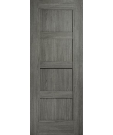 Doras Daiken Grey 4 Panel Door