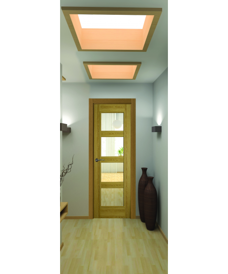 Doras Daiken Limed Oak 4 Panel Door