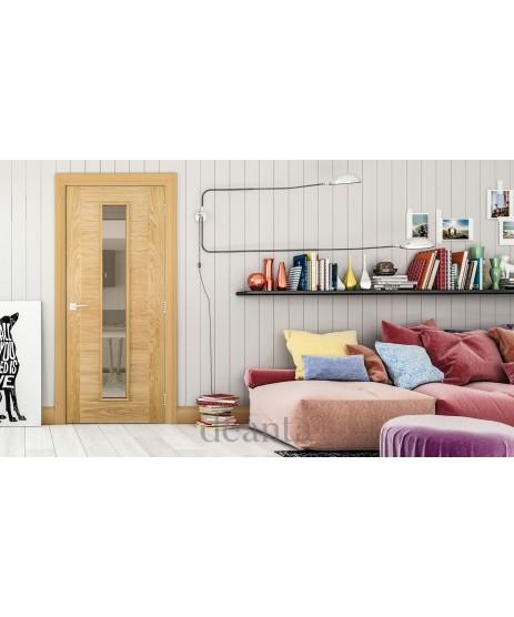 Deanta HP16G Oak Door (unglazed)