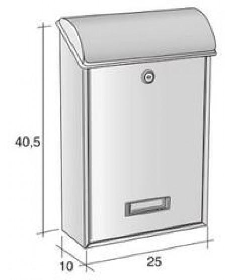 Alubox Villa Letterbox