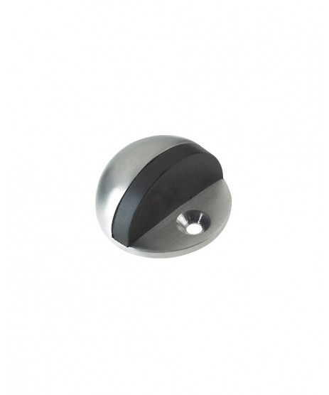 ZAB06BSC DOOR STOP FLOOR MOUNTED OVAL 45MM