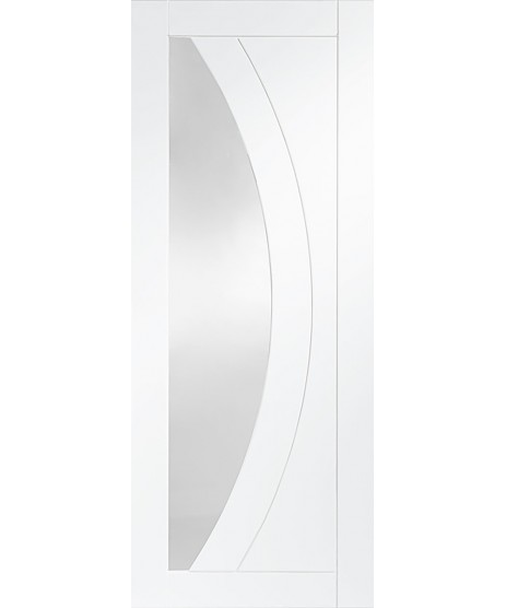 Lismore Frosted Glass Grooved Door