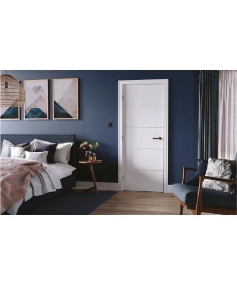 Doras Centaur Primed white door