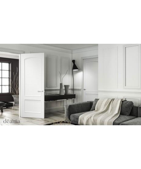 Deanta RB7G Unglazed Primed White Door