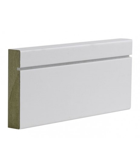Primed Skirting Shaker MDF