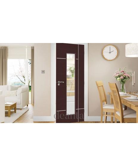 Deanta HP31G Wenga Glazed Door