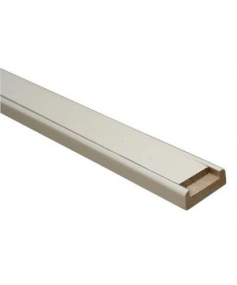 Primed White Base Rail 2.4m