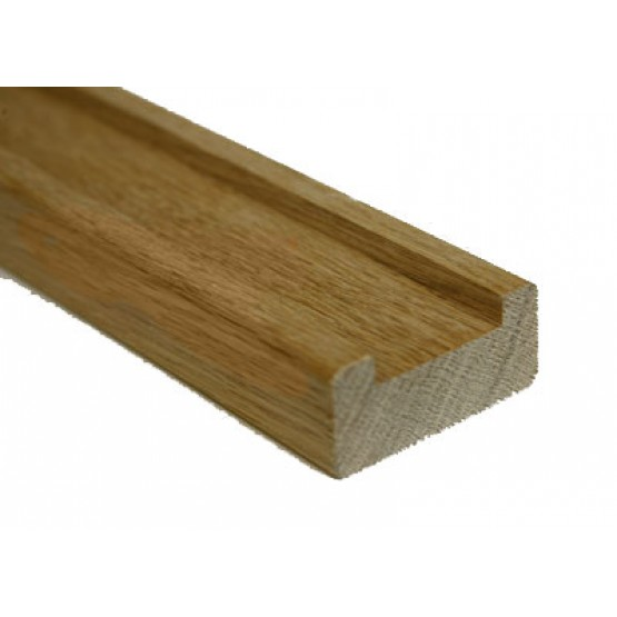 Oak Base Rail 2.4 Meter