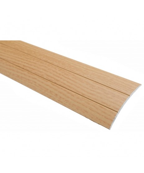 Trojan Self Adhesive Proline Coverstrip 2700mm x 38mm Oak