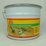 Wood Glue Sika Bond MS Wood Floor Adhesive