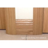 Deanta Oak Moulded Skirting  board 6""