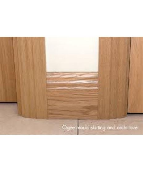 """Deanta Oak Moulded Skirting  board 6"""""""