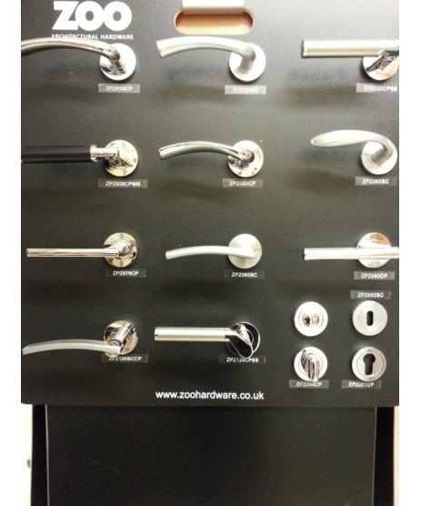 Pull Bar 300mm D Handle ZCS2D300BS