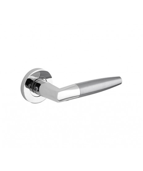 Zoo Hardware ZPZ110 Atlanta Lever on Rose Door Handle set