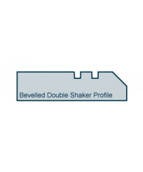 Primed Architrave Bevelled Double Shaker