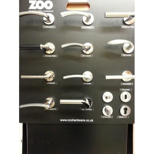 Zoo Hardware Zpz110 Atlanta Lever On Rose Door Handle Set