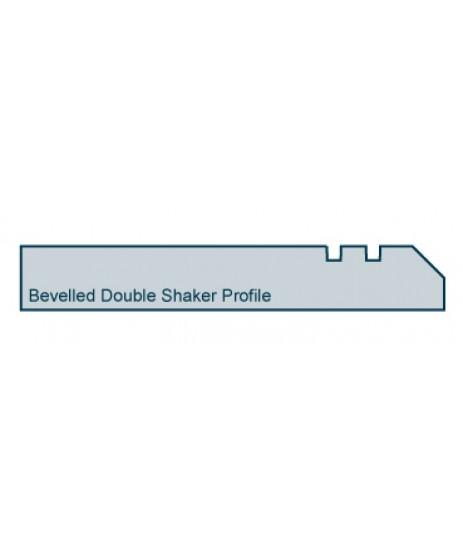 Primed Skirting Bevelled Double Shaker