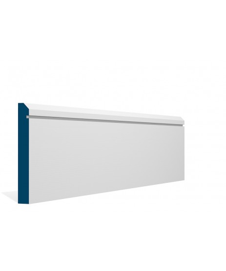 Primed Skirting Bevelled Single Shaker