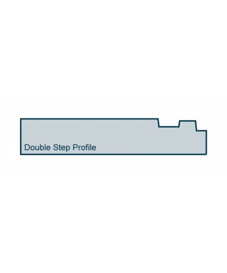 Primed Architrave Double Step