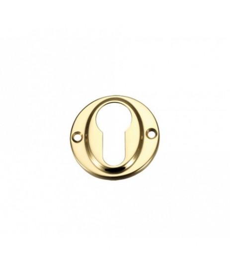 Zoo Hardware FB51 Brass Euro Profile Escutcheon