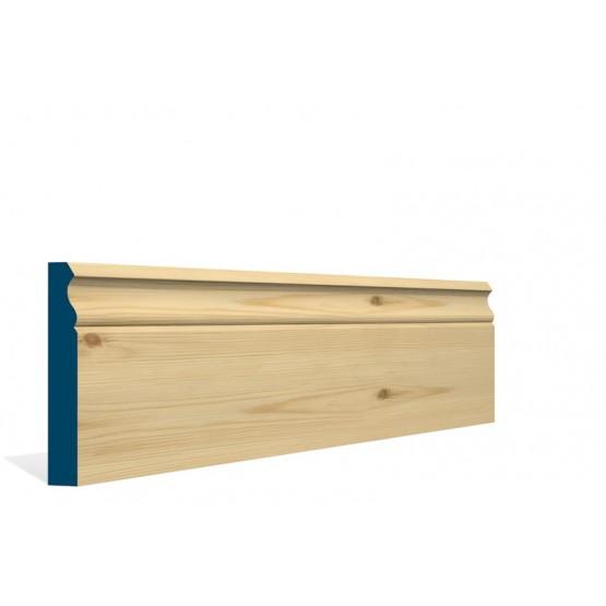 Redwood Pine Ogee Skirting Board