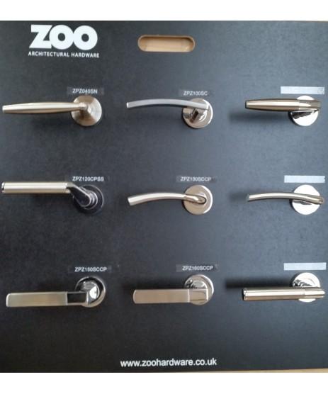 Zoo Hardware ZPZ140 Olympus Level-Screw on Rose