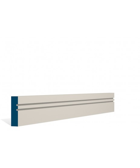 Primed Architrave Double Shaker