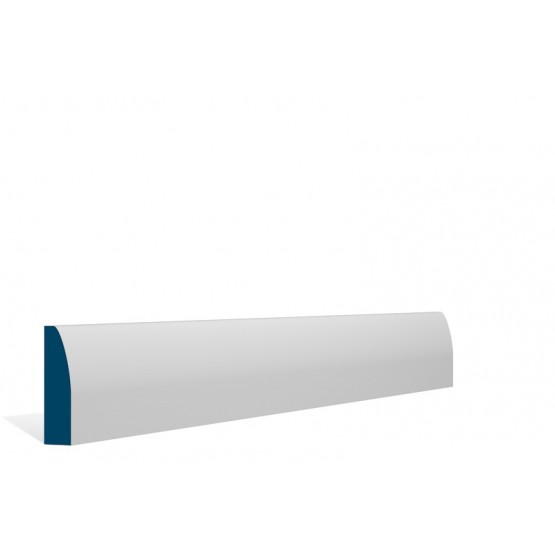 Primed Architrave Rounded