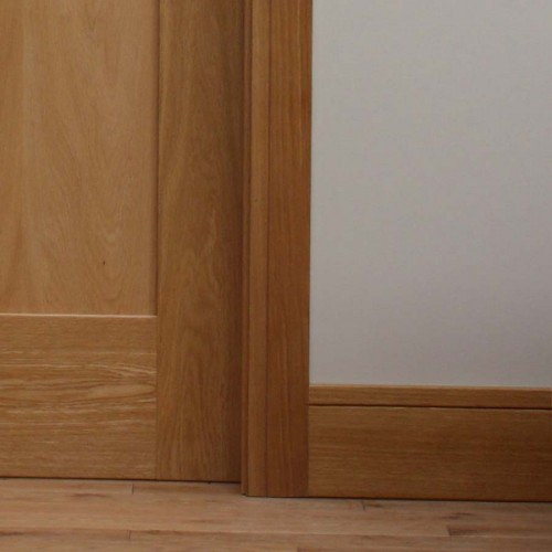 Deanta Oak Shaker Skirting 6 Quot Lacquered Finish