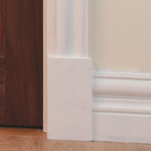 Deanta Victoriana Primed Skirting 180mm