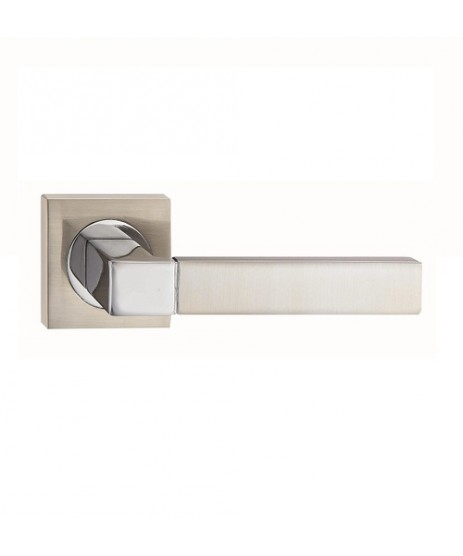 Fortessa Ares Satin Polished Chrome Door Handle