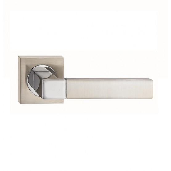 Fortessa Ares Satin Polished Chrome Door Handle