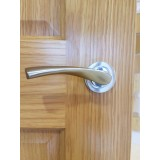 Atlas Hardware Rome Lever On Rose Handle set