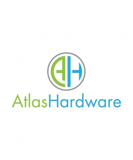 Atlas Hardware Ball Bearing Hinges Satin Chrome (1 pair)