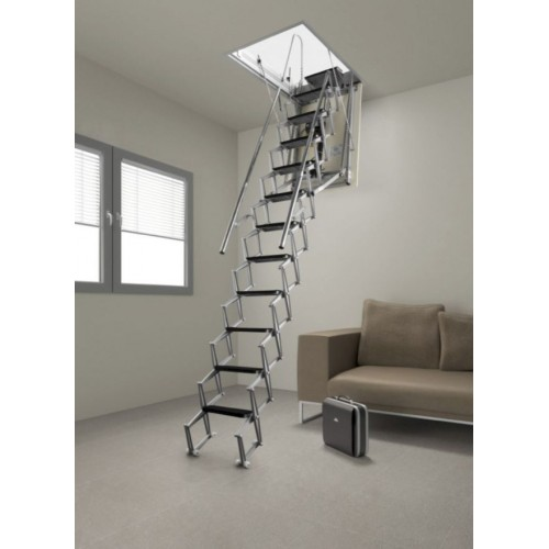 Auto electric attic stairs attic ladder Motorized attic stairs