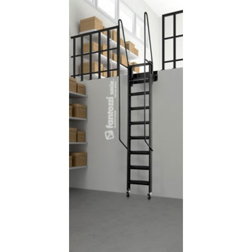 Mezzanine access ladder mezzanine stairs - Escaleras de pared ...