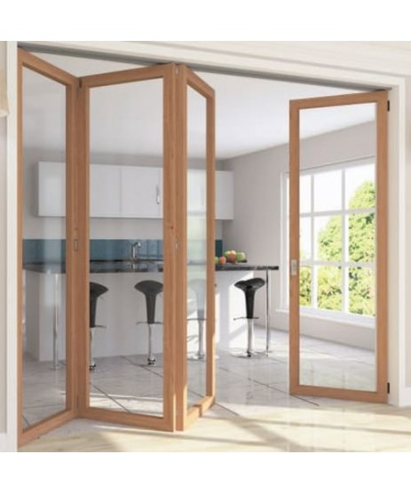 Roomflex Bi-Fold Door Kit RFK1 With 2M Track