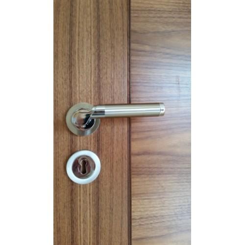fortessa olympia lever on rose door handle. Black Bedroom Furniture Sets. Home Design Ideas